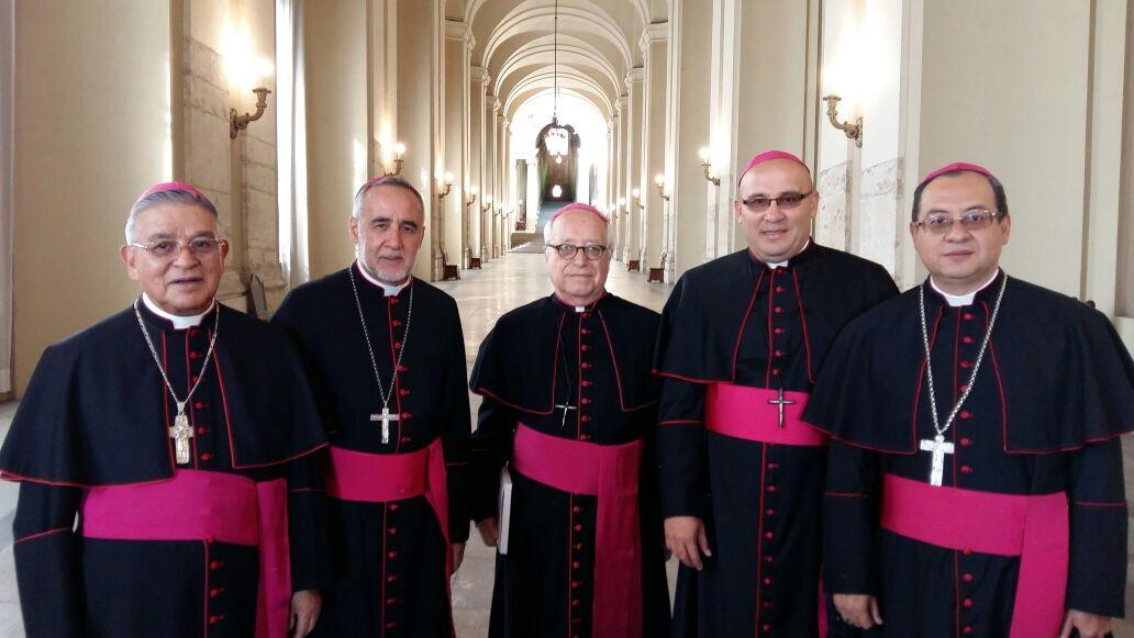 Visita ad limina de los Obispo del Ecuador
